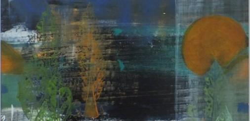 landschap op glas Acryl 53 bij 53